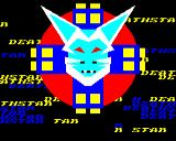 DeathStar BBC Micro Title screen, with alternate colours as they flash.