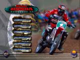 Silkolene Honda Motocross GP Windows Main Menu