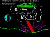 Moon Buggy ZX Spectrum This screen displays as the game loads