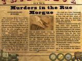 Dark Tales: Edgar Allan Poe's Murders in the Rue Morgue Macintosh Found newspaper