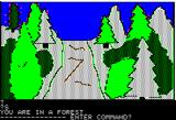 Hi-Res Adventure #4: Ulysses and the Golden Fleece Apple II Exploring a forest...