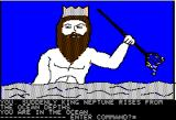 Hi-Res Adventure #4: Ulysses and the Golden Fleece Apple II King Neptune is here!