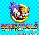 Sonic the Hedgehog Chaos Game Gear Sonic & Tails Title