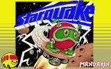 Starquake Atari ST Title screen