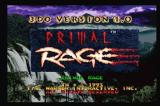 Primal Rage 3DO Title screen