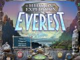 Hidden Expedition: Everest Macintosh Title / main menu