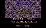 Motorbike Madness DOS IBM version credits
