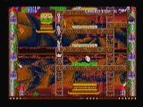 Super Burger Time Zeebo World 3-2. It is possible to shoot up or down when on a ladder. Here Peter Jr. fires possibly the best weapon in the game, the watering can.