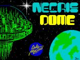 Necris Dome ZX Spectrum The game's title screen