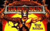 Dark Sun: Wake of the Ravager DOS Title Screen