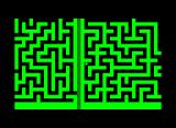 M-Maze Commodore PET/CBM Start of the maze