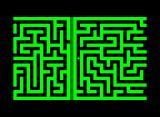 M-Maze Commodore PET/CBM A newly generated maze