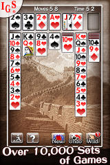 Great Solitaire! iPhone Gameplay Screen