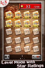 Great Solitaire! iPhone Level Mode Screen