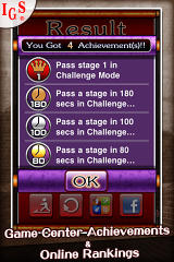 Great Solitaire! iPhone Achievement Screen