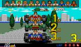 Power Drift Amiga End of the race, showing your position