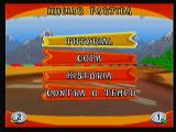 Crash Bandicoot Nitro Kart 3D Zeebo This is the new game menu, from here you can select the tutorial, cup, history or time attack mode.