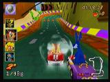 Crash Bandicoot Nitro Kart 3D Zeebo This shield power up protects you from any attack from other players.