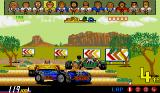 Power Drift Amiga Try not to bump into other buggies