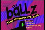Ballz: The Director's Cut 3DO Title screen