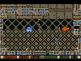 Blood Money Amiga Planet 1, the money stealing enemy and the antenna that jams your controls usually show up together