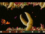 Blood Money Amiga Planet 2, simply fly around the giant claws