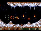 "Blood Money Amiga Planet 3, lava spitting volcanoes similar to <moby game=""gradius"">Gradius</moby>"
