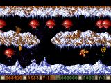 Blood Money Amiga Planet 3, try to shoot both waves of aliens