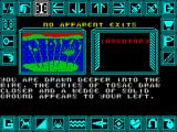 Shard of Inovar ZX Spectrum This does not look good. It's a kind of gaming limbo, not actually dead but that is a definite possibility