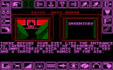 Shard of Inovar Amstrad CPC A close up view of the evil one's den