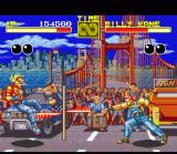Fatal Fury SNES Terry Bogard vs. Billy Kane with his big stick
