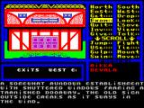 Venom ZX Spectrum The EXAMINE command was used to view the inn. This is the result.