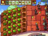 Plants vs. Zombies Windows I'm using only Cabbage-Pults here. Peashooters don't work well unless you put them at the top of the roof.