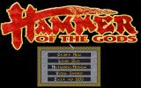 Hammer of the Gods DOS Title Screen