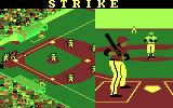 Championship Baseball DOS It's a strike! (CGA with RGB monitor)