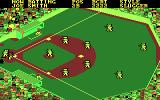 Championship Baseball DOS Next batter walks to the plate... (CGA with RGB monitor)