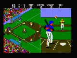 Championship Baseball DOS And here's the pitch! (CGA with composite monitor)