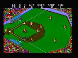 Championship Baseball DOS Made it to first base (CGA with composite monitor)