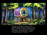 Ultima IV: Quest of the Avatar FM Towns The gypsy wagon