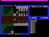 Ultima IV: Quest of the Avatar FM Towns Hitting the town