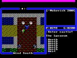 Ultima IV: Quest of the Avatar FM Towns Visiting a castle