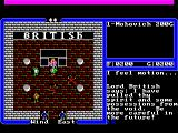 Ultima IV: Quest of the Avatar FM Towns Lord British's castle