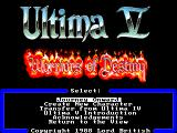 Ultima V: Warriors of Destiny FM Towns So, what do we do now?...
