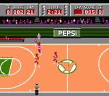 Magic Johnson's Fast Break NES Put up one from the 3 point line