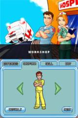 Hysteria Hospital: Emergency Ward Nintendo DS Workshop - dress your nurse up