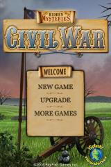 Hidden Mysteries: Civil War - Secrets of the North & South iPhone Title / main menu