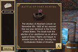 Hidden Mysteries: Civil War - Secrets of the North & South iPhone Fort Sumter - complete