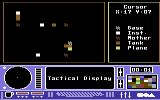 Skyfox Commodore 64 The tactical display