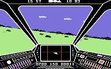 Skyfox Commodore 64 Flying a mission...
