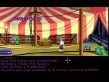 The Secret of Monkey Island FM Towns Guybrush considers a circus career